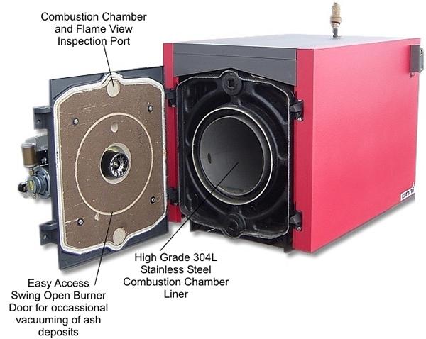 Waste Oil Boilers | OMNI Boilers | EconoHeat.com