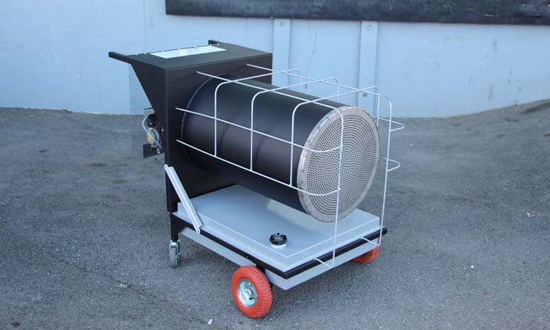 6350080 OWHPortable Front Portable Waste Oil Heater