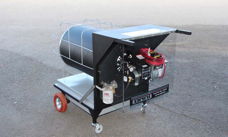 6350080 OWHPortable Rear Portable Waste Oil Heater