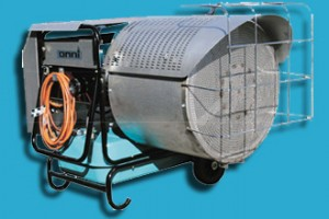 Radiant Waste Oil Heaters