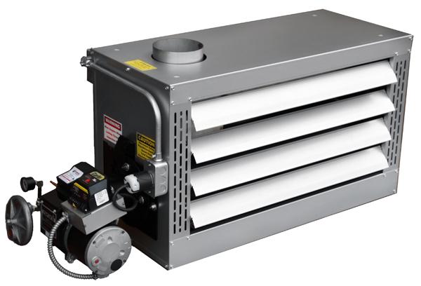 Small waste oil heater for garage dandk organizer for Omni garage door
